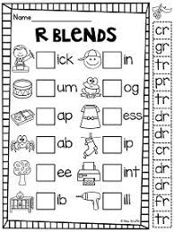 phonics final consonant blends worksheets google search