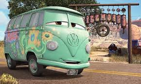 guide cars movie characters places