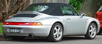 Porsche 911 Convertible - file 1997 porsche 911 carrera 993 convertible 2011 11 18 02
