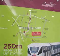 map usj 21 place residence corner condominium 3 bedrooms for sale in