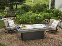 Discount Outdoor Fireplaces - table beautiful rectangle fire pit table outdoor kitchen patio