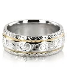 custom mens hand engraved wedding band 102431 within men u0027s