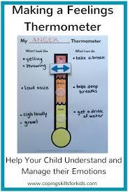 feelings thermometer template eliolera com