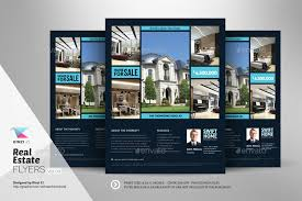 real estate flyer examples real estate flyer templates vol 03 by kinzishots graphicriver