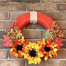 diy easy fall wreaths 10 great seasonal decor ideas