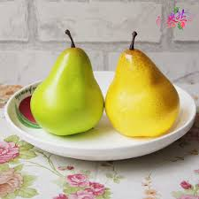 online get cheap artificial pears for home decoration aliexpress