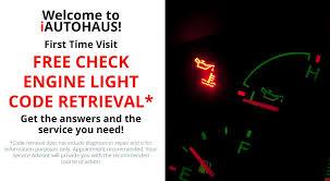 places that do free check engine light free check engine light code retrieval iautohaus