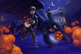 halloween chibi background a very httyd halloween by tsaoshin on deviantart