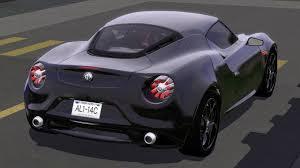 alfa romeo 4c concept fresh prince creations sims 3 2011 alfa romeo 4c concept
