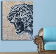 Big Wall Art Compare Prices On Leopard Wall Art Online Shopping Buy Low Price