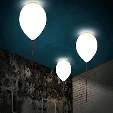 air balloon ceiling light creative modern glass balloon ceiling light children l two sizes
