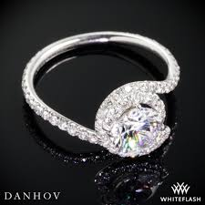 swirl engagement rings danhov ae100 abbraccio diamond engagement ring whiteflash 3813