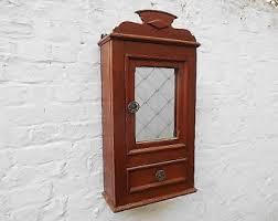 Rustic Bathroom Wall Cabinet Antique Wall Cabinet Vintage Kitchen Or Bathroom Storage