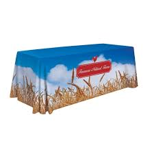 trade show table covers cheap 4 sided full print dye sublimation trade show table cover