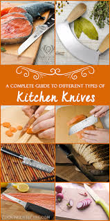 types of kitchen knives and their usage