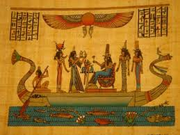 party on the boat egyptian papyrus 123e pp 123 e 1 2 00