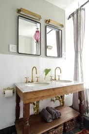 Open Shelf Bathroom Vanity Open Vanity Bathroom Shabby Chic Style Bathroom By Indigo Ochre