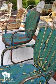 Metal Outdoor Chairs Vintage How To Refresh And Enjoy Vintage Metal Lawn Chairs U2013 Lora B
