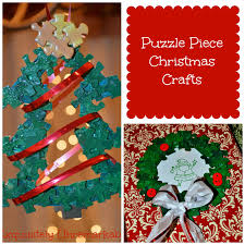 puzzle piece christmas crafts exquisitely unremarkable