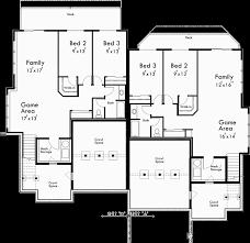 craftsman floor plan craftsman duplex house plans luxury duplex house plans