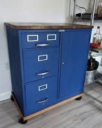 File Cabinets On Wheels Metal Filing Cabinet Makeover Furniture Makeover Industrial