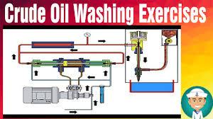 crude oil washing exercises youtube