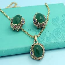 gold vintage statement necklace images Online shop champagne antique gold vintage turkish jewelry set jpg