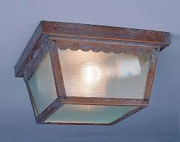 Baldwin Outdoor Lighting by Volume Lighting V7232 2 Light Flush Mount Outdoor Ceiling Fixture