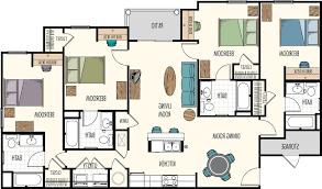 home design 3 bedroom house plans 2 story arts throughout plan home design floor plans hasbrouck managementhasbrouck management with regard to 4 bedroom floor plans 3