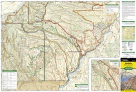 New Mexico Zip Code Map by Bandelier National Monument National Geographic Trails