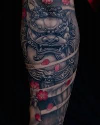 45 menacing foo tattoos to protect you