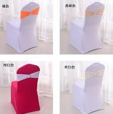 birthday chair cover 15x35cm wedding banquet chair spandex wedding chair cover sash