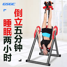 Upside Down Bench Machine Home Fitness Equipment Stretch Abdomen Uprising Traction