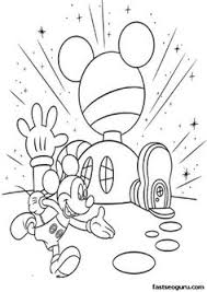 coloring page mickey mouse free coloring autumn day more free printable autumn fall