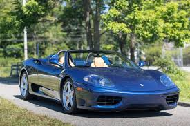 blue ferrari vehicle inventory