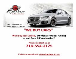 kar depot garden grove ca read consumer reviews browse used