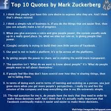 top 10 quotes by zuckerberg visual ly
