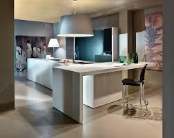 contemporary kitchen marble wooden lacquered brera
