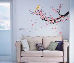 online get cheap spring blossom wall decal aliexpress com spring plum blossom flower diy wall stickers nursery kids room wall decals wall paper art room decor wedding christmas gift