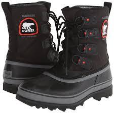sorel men u0027s caribou xt snow boots black d m us men u0027s shoes