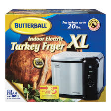 butterball xl butterball xl indoor electric turkey fryer 23011615 fryers