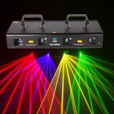 laser lights 460mw green purple yellow 4 beams laser light 7ch dmx dj stage