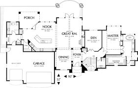 hillside floor plans luxurious hillside home with garage options 69171am