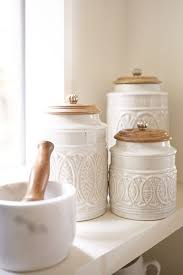 white kitchen canister sets ceramic kitchen canister set with stand storage canisters kitchen