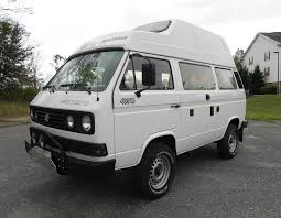 vw minivan 1970 no reserve high top 1989 vw vanagon westfalia syncro bring a