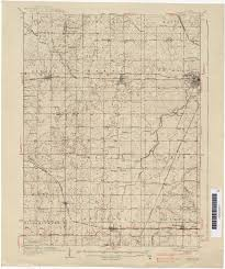 Il Map Illinois Historical Topographic Maps Perry Castañeda Map