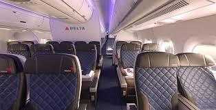 Delta Economy Comfort Review Delta Unveils New Airbus A350 Boeing 777 Premium Economy Seat