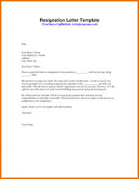 letter resignation template memo example of a image cover