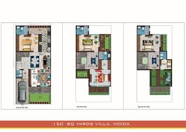 conac villas noida floor plan floor plan of conac villas sector