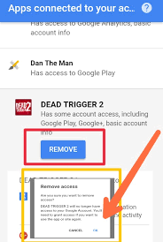 remove gmail from android how to remove apps connected to your gmail account in